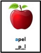 soal literasi AKG gambar apel