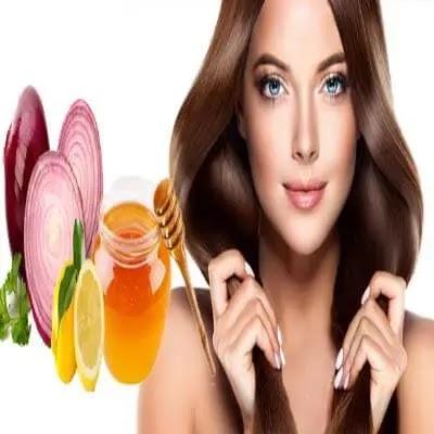 استخدام عصير البصل لنمو الشعر