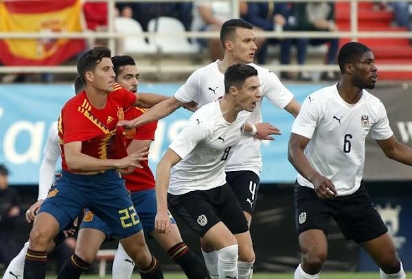 Málaga, Pau Torres juega los 90 minutos ante Austria
