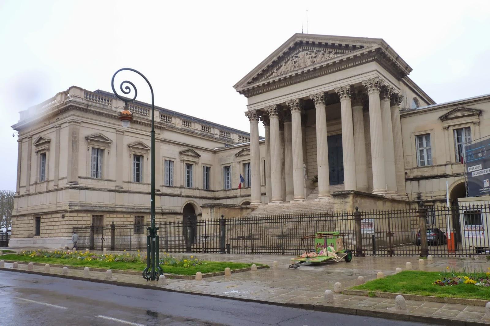 Palacio de Justicia de Montpellier.