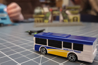 Micro Machines Micro City Transit Bus City Pack Review