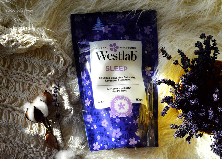 Westlab Sleep Uspokajająca sól do kąpieli z Jaśminem i Lawendą