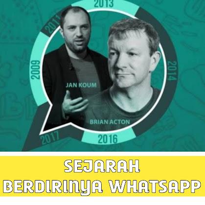 Sejarah Berdirinya WhatsApp