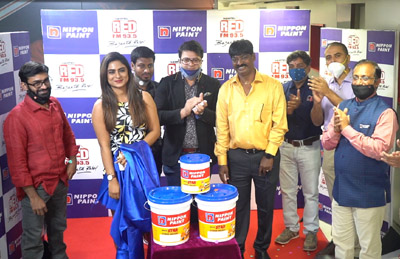 Actress Deepika Das launching Nippon Paint BREEZE STAR