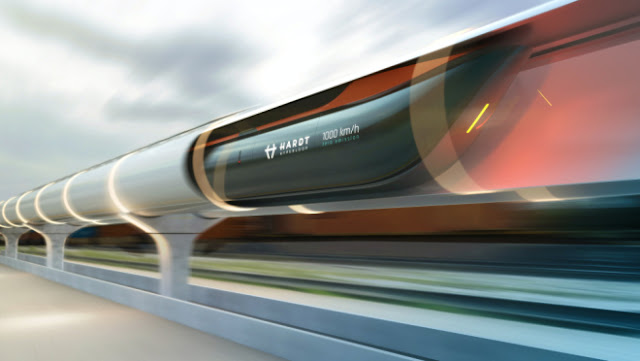 A Ridiculously Fast New Hyperloop Train Could Soon Take You from Paris to Amsterdam in 90min