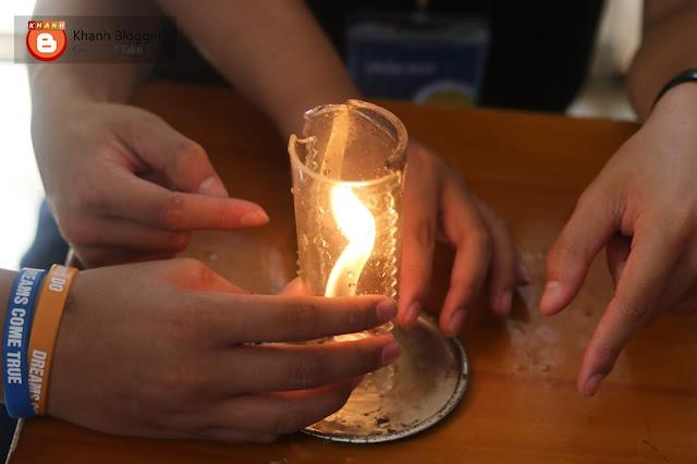 thí nghiệm trại hè bóng đèn