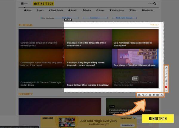 Cara screenshot layar komputer dengan ukuran bebas di Windows & Mac OS