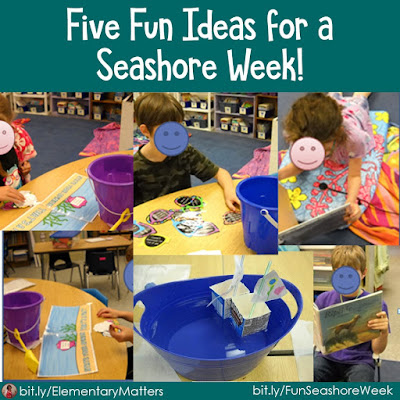 Five Fun Ideas for a Seashore Week: Children absolutely love a theme week. It brings an enthusiasm for learning, and is fun for the teacher, too!