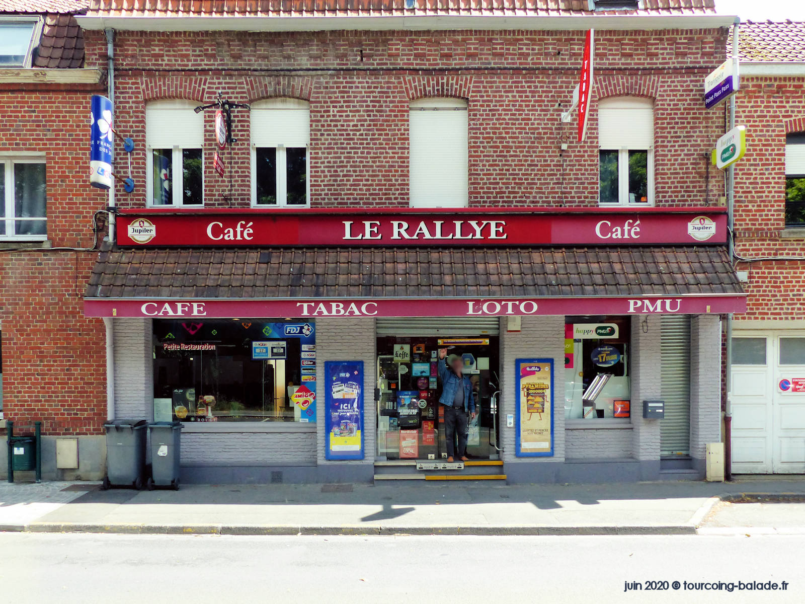 Tabac Le Rallye, Mouvaux Rue de Lille, 2020