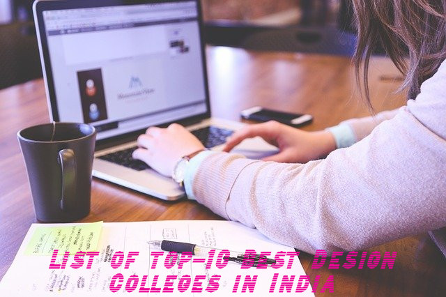 List of top-10 Best Design Colleges in India