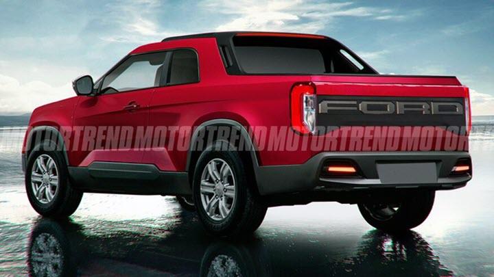Ford sắp ra mắt bán tải cỡ nhỏ, thiết kế lai giữa Ranger và Bronco