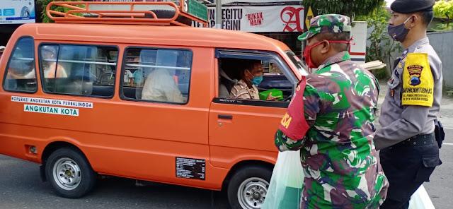 TNI-Polri Di Purbalingga Tetap Berbagi Dalam Situasi Penuh Keterbatasan