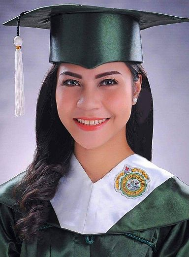 Regine Villamejor USJR graduation