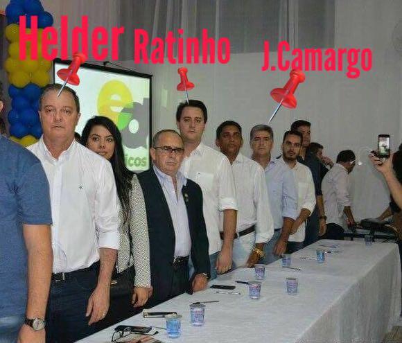Ratinho Jr em Colombo tem apoio do condenado à prisão J Camargo é este o seu candidato a governador?