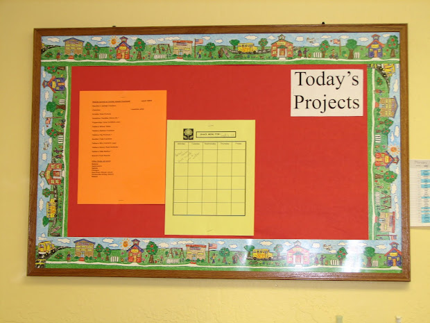 Preschool Parent Bulletin Board Ideas