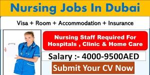 Nurse Job Recruitment Nursery in Sharjah Location | Salary AED 2001-2500