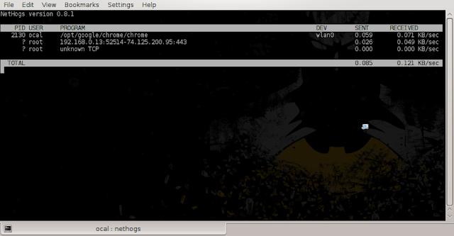 5 Cara Monitoring Bandwidth via Terminal Linux