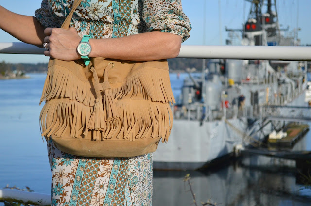 How to style bohemian, fahsion, fblogger, fashionover50, fringe,seattleblog
