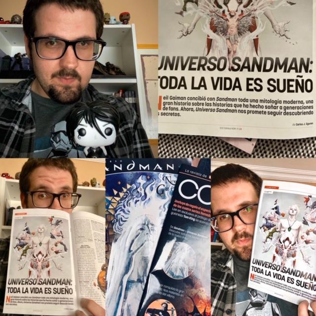 ¡Escribo sobre Sandman en el 11 de ECC Cómics!