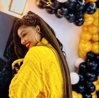 Angela Okorie Gets Engaged To Lover