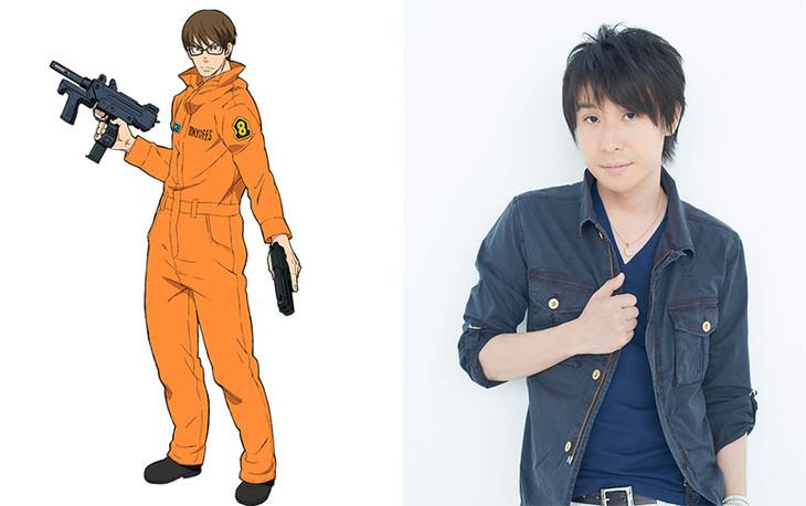 Fire Force anime - Kenichi Suzumura - Hinawa Takehisa