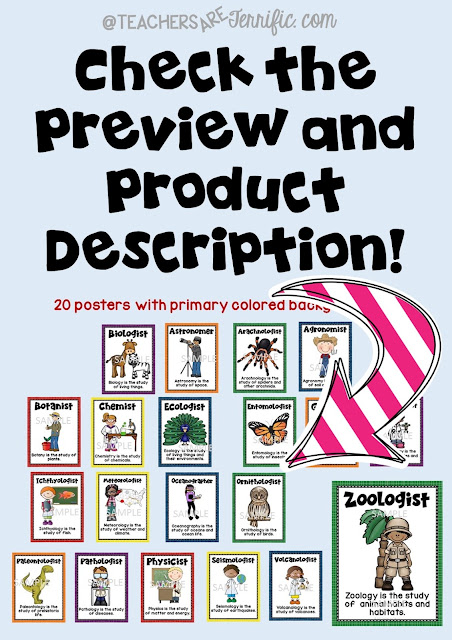 Teachers Pay Teachers shoppers: Be sure your read those product descriptions and check the previews! This gives you a chance to make great buying decisions! Check this blog post for more!
