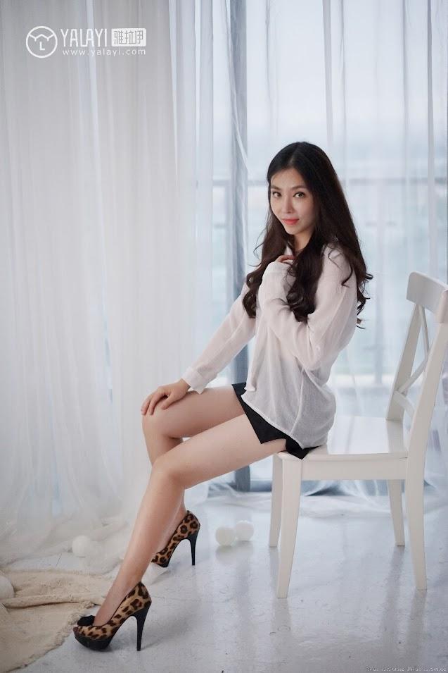 YALAYI雅拉伊  2018.10.20 NO.012 韵味美腿丽人 沈紫云 - Girlsdelta