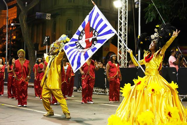 TONINHO É GERAES e um  Raio de Sol no desfile da Escola de Samba em 2020.