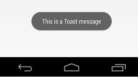 Cara menampilkan toast yang kerena dan informatif