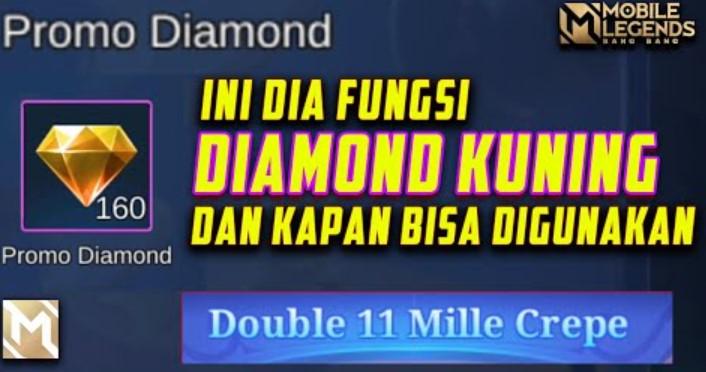 Kegunaan Diamond Kuning Mobile Legend