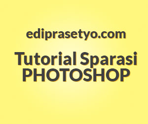 Cara membuat Background sparasi di Photoshop