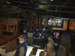 Gabungan TNI, Polri, Pol PP, Sisir Kos-Kosan dan Tempat Keramaian di Malam Hari