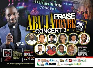 Win N200K In The Abuja Praise Trybe Concert With Fada Sheyin