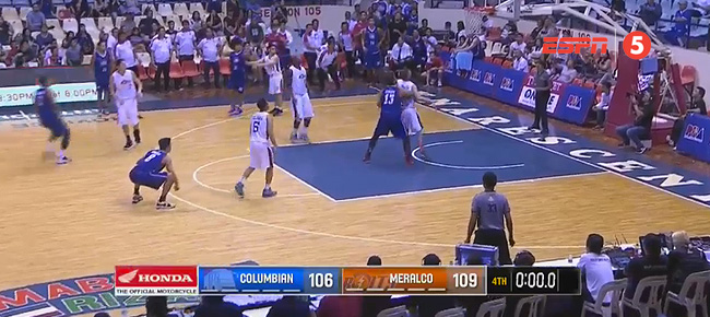 Meralco Bolts def. Columbian Dyip, 109-106 (REPLAY VIDEO) August 17