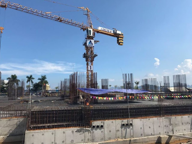 Tiến độ thi công xây dựng Citadines Marina