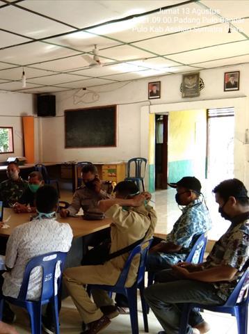 Bersama Perangkat Desa Diwilayah Binaan, Personel Jajaran Kodim 0208/Asahan Laksanakan Komunikasi Sosial