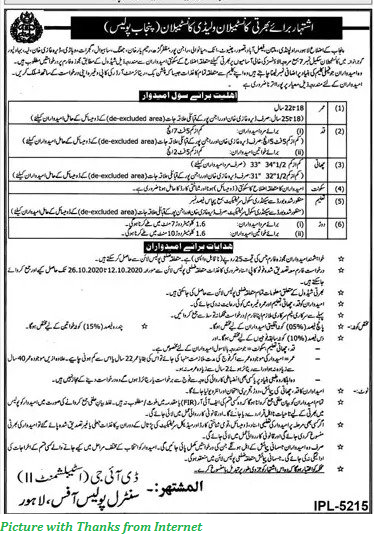 Punjab Police Jobs 2020 - Latest Punjab Police Jobs 2020 Constables and Lady Constables
