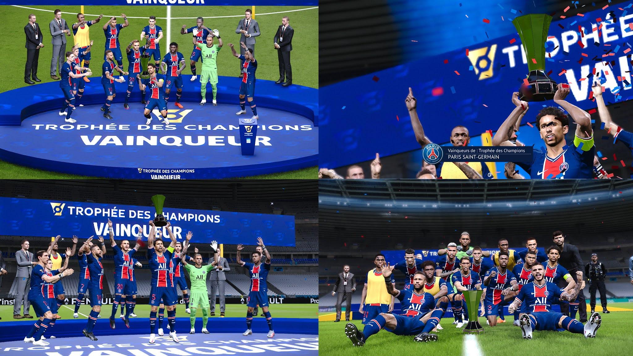 PES 2021 Trophée des Champions Graphic Pack AIO Version by Milwalt