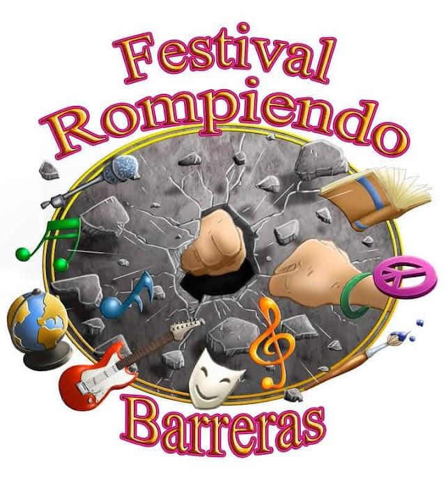 """Festival de música independiente internacional - Rompiendo Barreras""""  en su primera edición"""