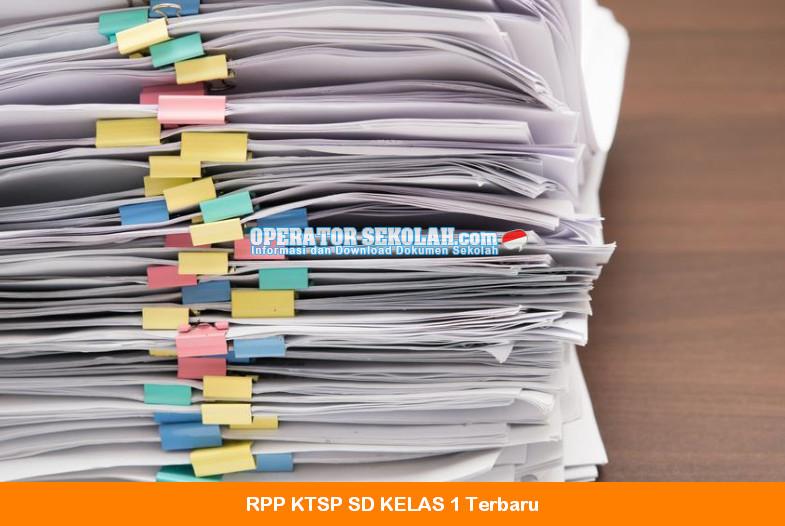 RPP KTSP 2016 - 2017 SD Perangkat Pembelajaran Kelas 1