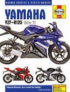 Yamaha YZF R125  pre mot check pass mot first time
