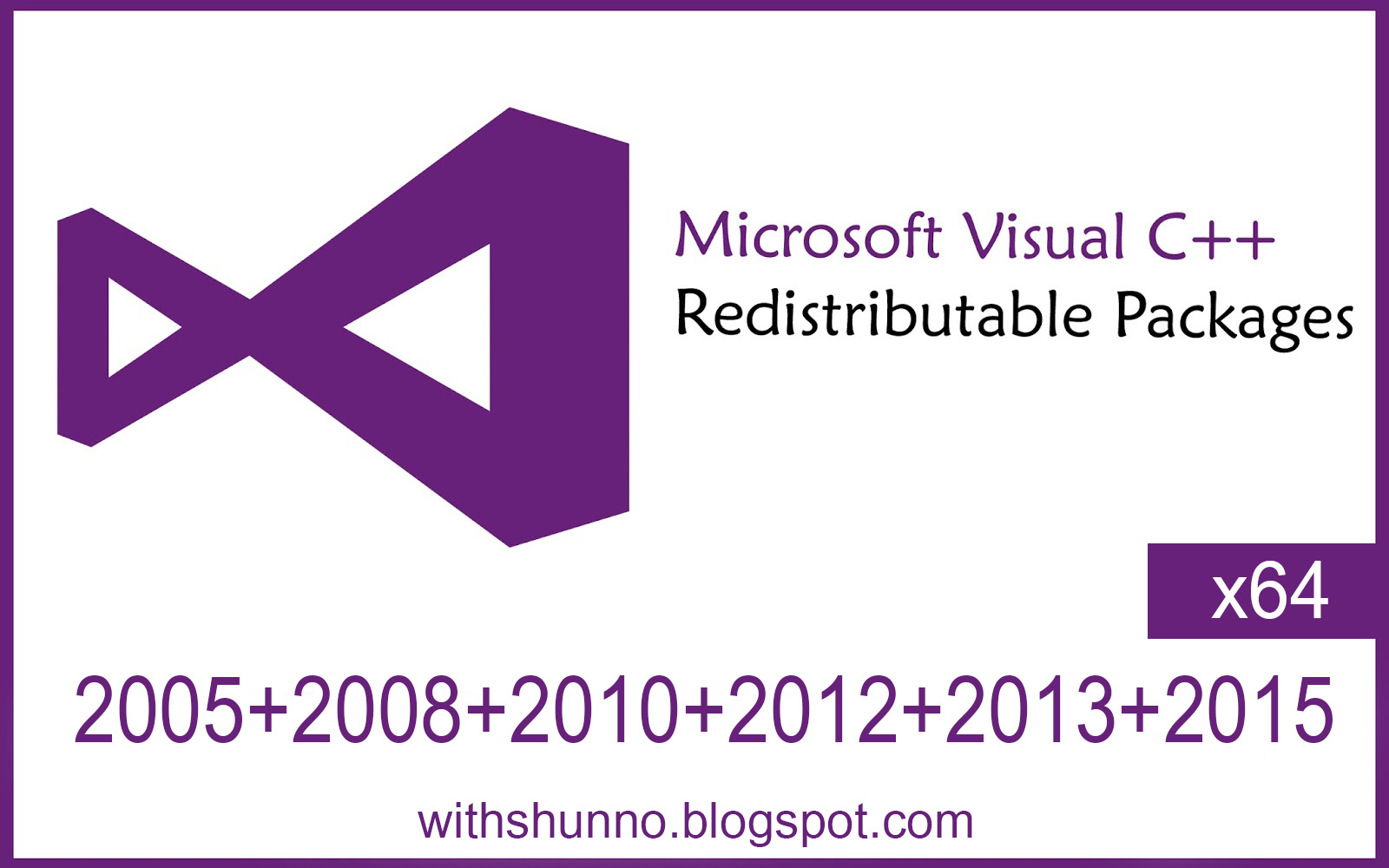 microsoft redistributable 2008 x64