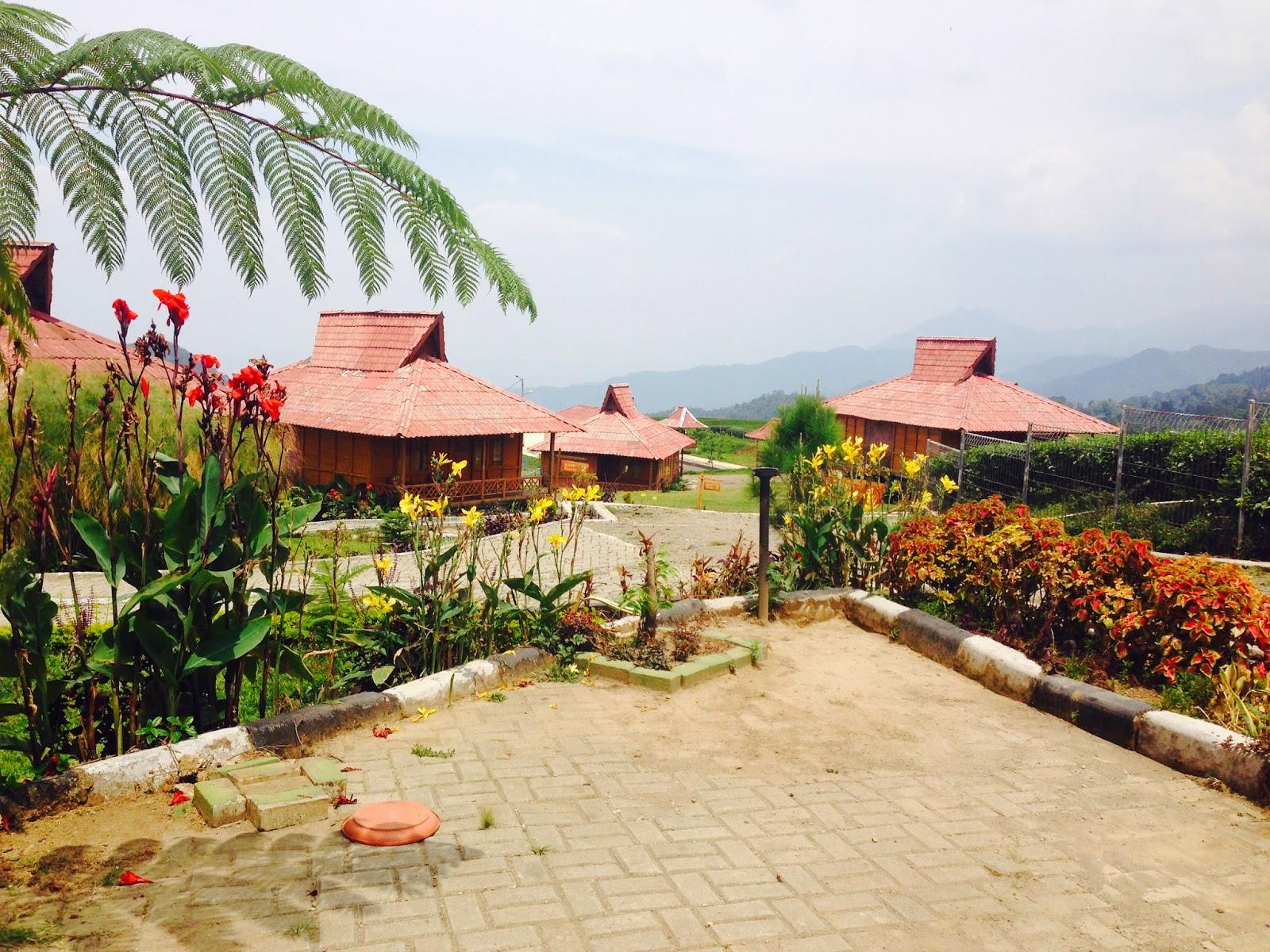 sewa villa di ciater