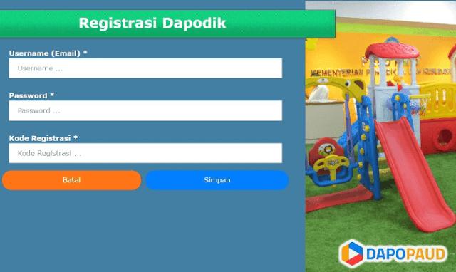 Aplikasi Dapodik PAUD akhir telah dirilis pada tanggal  Aplikasi Dapodik PAUD 2018/2019: Panduan Lengkap Instalasi dan Penggunaan