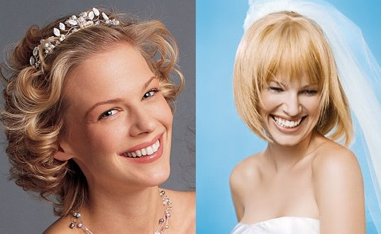 Interactive Magazine: Bridal Hairstyles For Short Hair 5