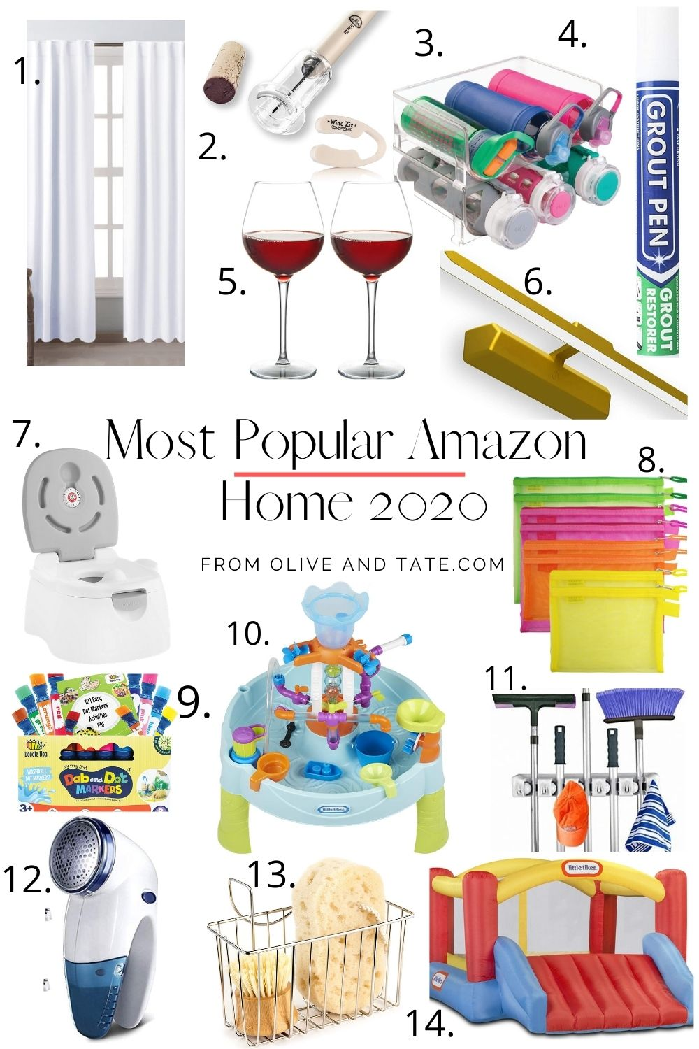 The Best Sellers of Amazon Home and Family 2020
