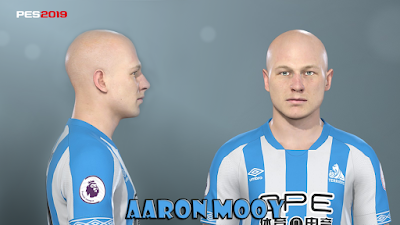 PES 2019 Faces Aaron Mooy by Prince Hamiz