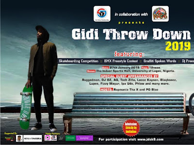 "VIDEO: Juice Deluxe Skateboarding and BMX Competition Tagged ""Gidi Throw Down 2019"" 