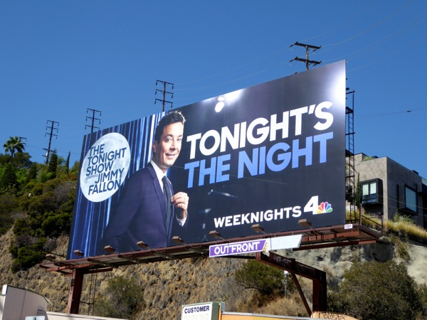 Jimmy Fallon Tonights the night 2015 billboard