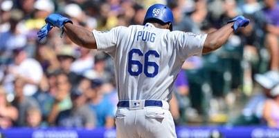 Durante esta zafra, Puig finalmente llegó a los 100 jonrones de por vida en el big show. Ahora es uno de los 14 jugadores cubanos en esa lista, con 108 en global